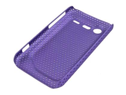 Slim Mesh Case for HTC Incredible S - Light Purple