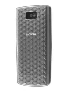 Nokia X3-02 TPU Gel Case - Diamond Clear Soft Cover