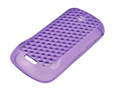 Samsung Galaxy 580 Diamond TPU Gel Case - Purple