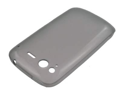 HTC Desire S TPU Gel Case - Frosted Grey