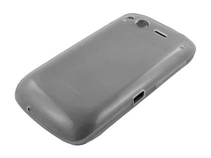 HTC Desire S TPU Gel Case - Frosted Clear