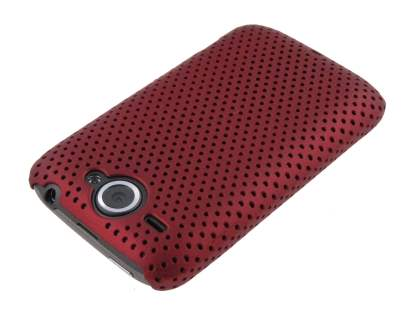 HTC Wildfire G8 Mesh Case - Red