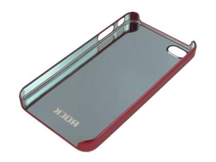 ROCK Titanium Ultra-Thin Naked Shell for iPhone 4  - Metallic Rose