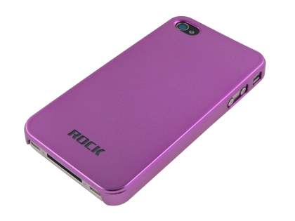 ROCK Titanium Ultra-Thin Naked Shell for iPhone 4 - Metallic Pink