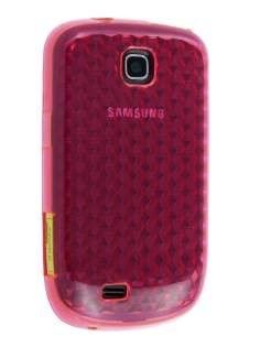 TPU Gel Case for Samsung Galaxy Mini S5570 - Pink Soft Cover