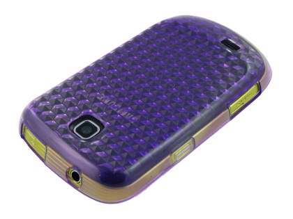 Samsung Galaxy Mini S5570 TPU Gel Case - Purple