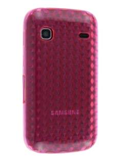 TPU Gel Case for Samsung Galaxy Gio S5660 - Pink Soft Cover