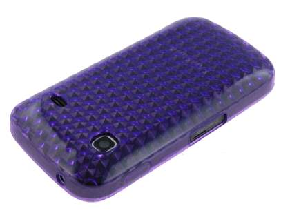 Samsung Galaxy Gio S5660 TPU Gel Case - Purple