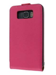 Synthetic Leather Flip Case for HTC Touch HD2 - Pink Leather Flip Case