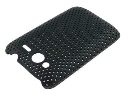Slim Mesh Case for HTC Wildfire S - Black