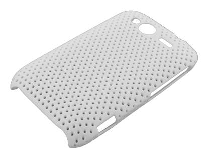Slim Mesh Case for HTC Wildfire S - White