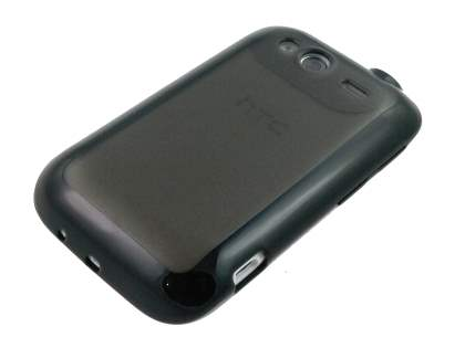 HTC Wildfire S Dual-Design Case - Black/Grey