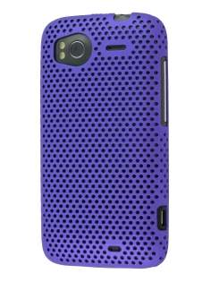 HTC Sensation Slim Mesh Case - Purple
