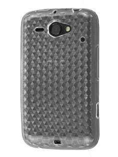 HTC ChaCha TPU Gel Case - Diamond Clear Soft Cover