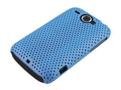 HTC Wildfire G8 Mesh Case - Light Blue