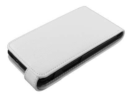 Samsung I9100 Galaxy S2 Synthetic Leather Flip Case - White