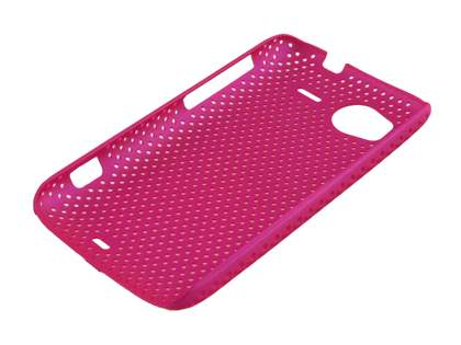 HTC Sensation Slim Mesh Case - Pink