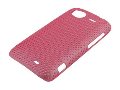 HTC Sensation Slim Mesh Case - Light Pink