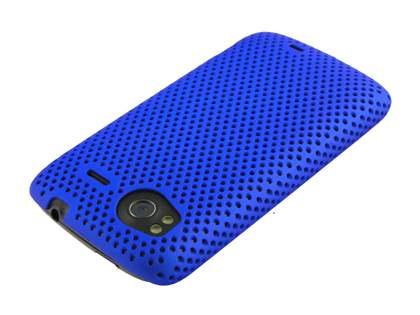 HTC Sensation Slim Mesh Case - Blue
