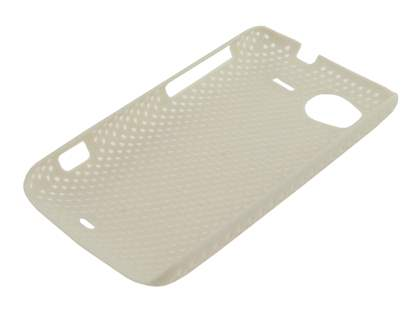 HTC Sensation Slim Mesh Case - White