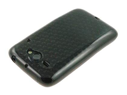 HTC ChaCha TPU Gel Case - Diamond Grey