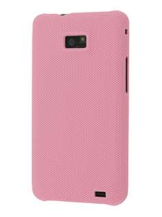 Dream Mesh Case for Samsung I9100 Galaxy S2 - Baby Pink