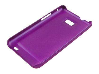 Samsung I9100 Galaxy S2 Dream Mesh Case - Grape Purple