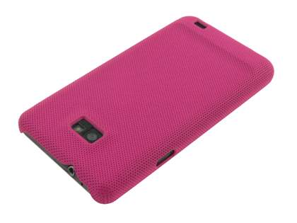 Samsung I9100 Galaxy S2 Dream Mesh Case - Rose Pink