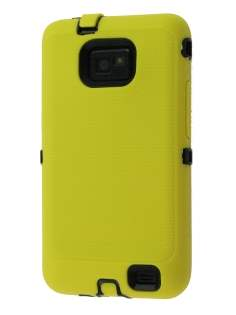 Samsung I9100 Galaxy S2 Defender Case - Yellow/Black