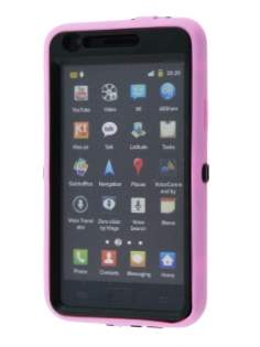 Defender Case for Samsung I9100 Galaxy S2 - Baby Pink/Black