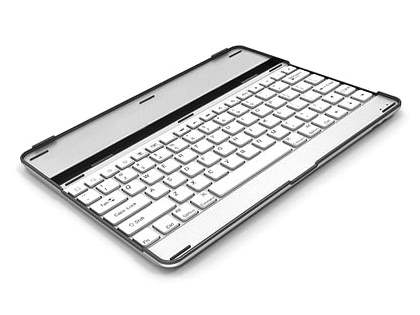 iPad 2/3/4 Aluminium Bluetooth Keyboard - White