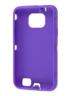 Defender Case for Samsung I9100 Galaxy S2 - Purple/Black