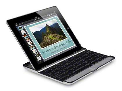 iPad 2/3/4 Aluminium Bluetooth Keyboard - Black