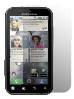 Anti-Glare Screen Protector for Motorola DEFY - Screen Protector