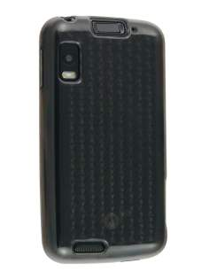 TPU Gel Case for Motorola ATRIX 4G MB860 - Diamond Grey Soft Cover
