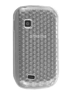 TPU Gel Case for Samsung Galaxy Fit S5670 - Diamond Clear Soft Cover
