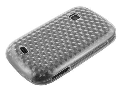 Samsung Galaxy Fit S5670 TPU Gel Case - Diamond Clear