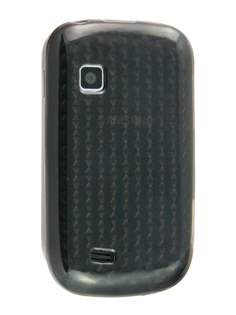 TPU Gel Case for Samsung Galaxy Fit S5670 - Diamond Grey Soft Cover
