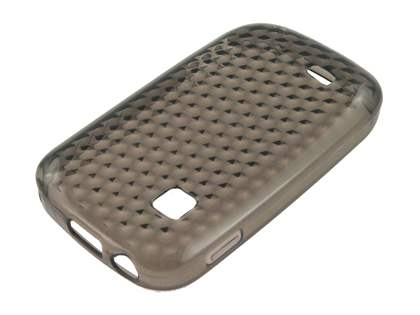 TPU Gel Case for Samsung Galaxy Fit S5670 - Diamond Grey