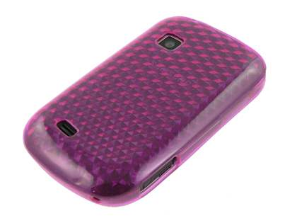Samsung Galaxy Fit S5670 TPU Gel Case - Diamond Violet