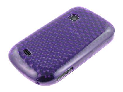 Samsung Galaxy Fit S5670 TPU Gel Case - Diamond Purple