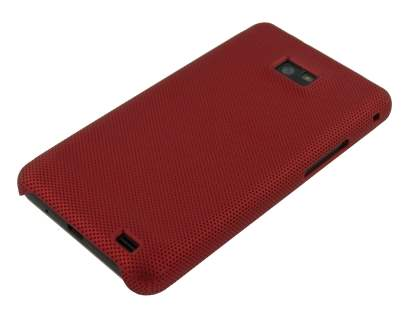 Samsung I9100 Galaxy S2 Dream Mesh Case - Maroon Red