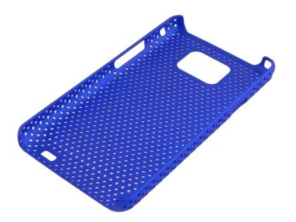 Samsung I9100 Galaxy S2 Slim Mesh Case - Blue