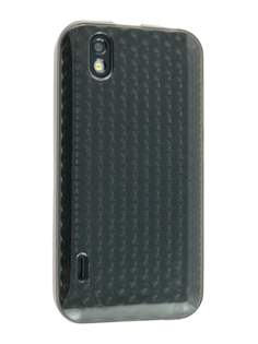 TPU Gel Case for LG Optimus Black P970 - Diamond Grey Soft Cover