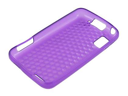 TPU Gel Case for Motorola ATRIX 4G MB860 - Diamond Purple