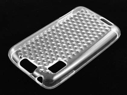 TPU Gel Case for Motorola ATRIX 4G MB860 - Diamond Clear