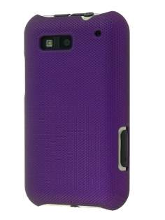 Dream Mesh Case for Motorola DEFY ME525 - Dark Purple Hard Case