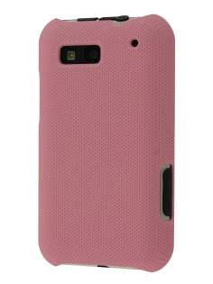 Dream Mesh Case for Motorola DEFY ME525 - Light Pink Hard Case