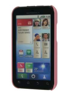 Dream Mesh Case for Motorola DEFY ME525 - Light Pink