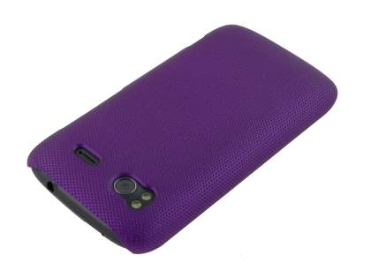 HTC Sensation Dream Mesh Case - Dark Purple